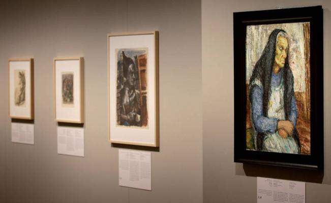 """""""Arte en el Holocausto. 100 obras de Yas Vashem"""""""